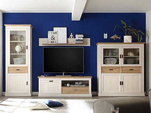 """Wohnwand Anbauwand Mediawand Schrankwand Wohnzimmerwand TV-Wand """"Briana I"""""""
