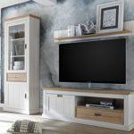 "Wohnwand Mediawand Schrankwand TV-Wand Anbauwand Wohnzimmerwand ""Briana II"""